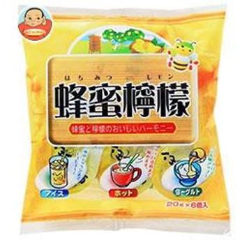 【送料無料】 やまと蜂蜜 蜂蜜檸檬 20g×6個×10袋入