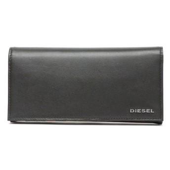 【ディーゼル】長財布(メンズ) ブラック
