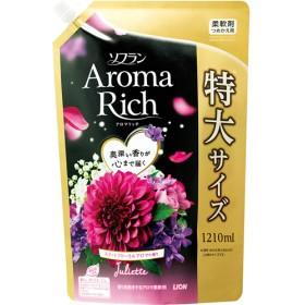 ソフラン アロマリッチ ジュリエット スイートフローラルアロマの香り 詰替用特大 (1210mL)