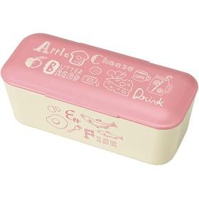 ABC レディースランチ1段 ピンク T-66431 (1コ入)