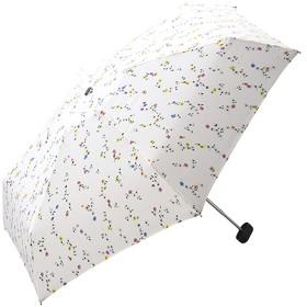 w.p.c 折りたたみ傘 ヴィンテージフラワー mini 手開き オフホワイト 50cm 701-188 (1本入)