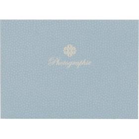 ハクバ 写真台紙 ランス コソメ PC 2面 ヨコ ブルー (1冊)