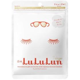 ルルルン/フェイスマスク 白のルルルン さっぱり透明感タイプ フェイス用シートパック・マスク