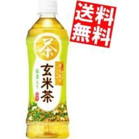 【送料無料】サントリー 緑茶 伊右衛門 玄米茶 525mlペットボトル 24本入big_dr