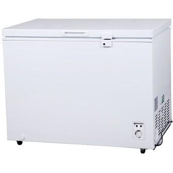 冷凍ストッカー 冷凍庫 300Lクラス(292L) フリーザー 上開き 大型 保存 -20℃以下 温度調整 キャスター 急冷 単相100V 家庭用 業務用 PlusQ QFZ30A