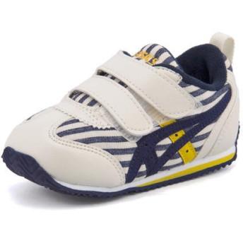 キッズ asics SUKU2(アシックス スクスク) アイダホ BABY CT4(アイダホベビーCT4) TUB167 50S ネイビーブルー運動靴 スニーカー ファースト/ベビー