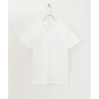 <パラファナリア/PARAPHERNALIA> PRVネックTシャツ(0118887181) 90ホワイト 【三越・伊勢丹/公式】