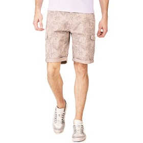 ハーフパンツ - GUESS【MEN】 [GUESS] PALM PATTERN SHORT