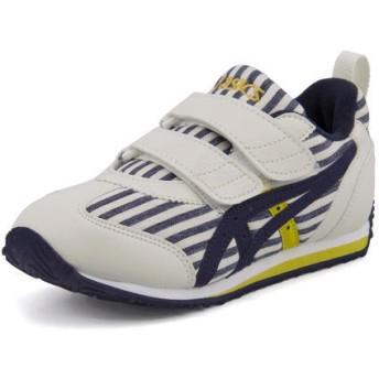 キッズ asics SUKU2(アシックス スクスク) アイダホ MINI CT 3(アイダホミニCT3) TUM187 50S ネイビーブルー運動靴 スニーカー ボーイズ