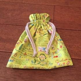 ベジタブル柄の巾着袋