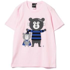 ビームス メン BEAMS T / Horror Bear Tee メンズ PINK S 【BEAMS MEN】