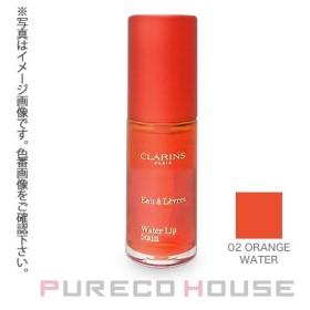 クラランス ウォーターリップ ステイン 7ml #02 orange water【メール便可】