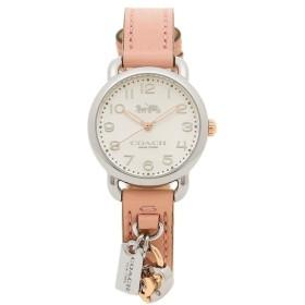「P10%還元 11/18 10時まで」 【返品OK】 コーチ 腕時計 レディース COACH 14502969 ピンク シルバー