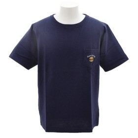 パワー・トゥ・ザ・ピープル(POWER TO THE PEOPLE) 刺繍 半袖Tシャツ 8512117-60NAV (Men's)