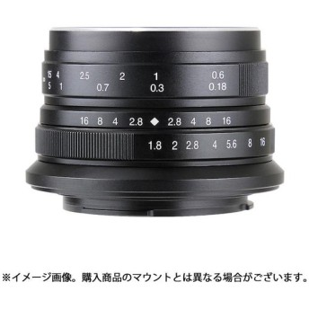 《新品》 七工匠 (しちこうしょう) 7artisans 25mm F1.8 (m43用) ブラック [ Lens | 交換レンズ ]