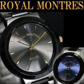ロイヤルモントレス メンズ腕時計 セラミックベルト rm201m グレー プレゼント 正規品 デザインウォッチ ゴージャス おしゃれ ブランド