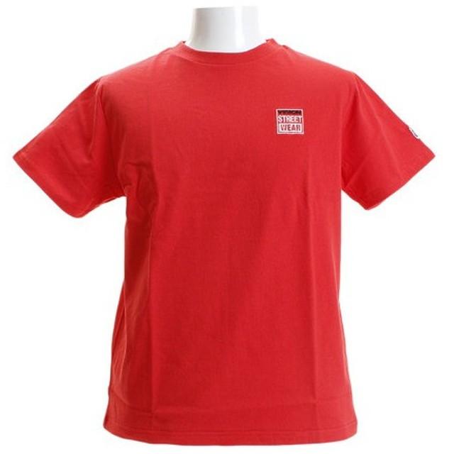 VISION ワンポイント刺繍Tシャツ 8523172-12RED (Men's)