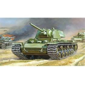 ズベズダ 【再生産】1/35 KV-1 ソビエト重戦車【ZV3539】プラモデル 【返品種別B】