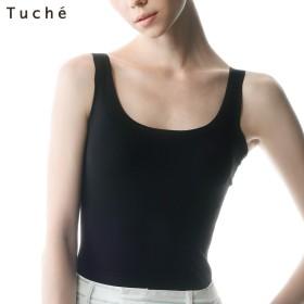 GUNZE グンゼ Tuche(トゥシェ) 【着るコスメ】汗取り付タンクトップ(レディース)【SALE】 ホワイトサックス L