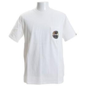 クリフメイヤー(KRIFF MAYER) ロゴポケット 半袖Tシャツ 1757206-1-WHT (Men's)