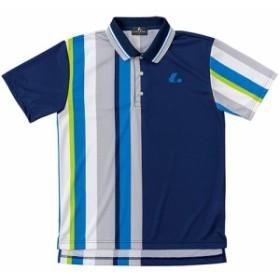 ルーセント(LUCENT) メンズ レディース ジュニア テニス ゲームシャツ ネイビー XLP8376 NV 【テニスウェア ソフトテニスウェア トレー