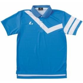 ルーセント(LUCENT) メンズ レディース ジュニア テニス ゲームシャツ ブルー XLP8317 BL 【テニスウェア ソフトテニスウェア トレーニ