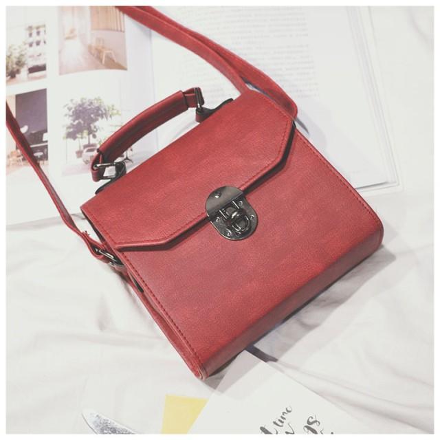 tas selempang wanita sling bag cewek diagonal kulit simple bta383: Rp 76.300
