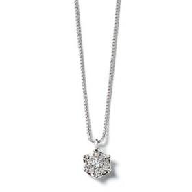 ブルーム(BLOOM)/プラチナ ダイヤモンド ネックレス