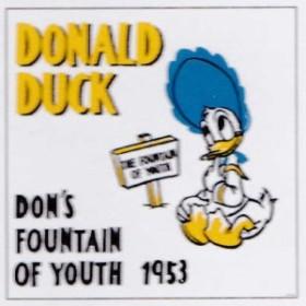 アートパネル ディズニー キャンバス ドナルド【ドナルド1953】30角 キャンバスアート ウォール