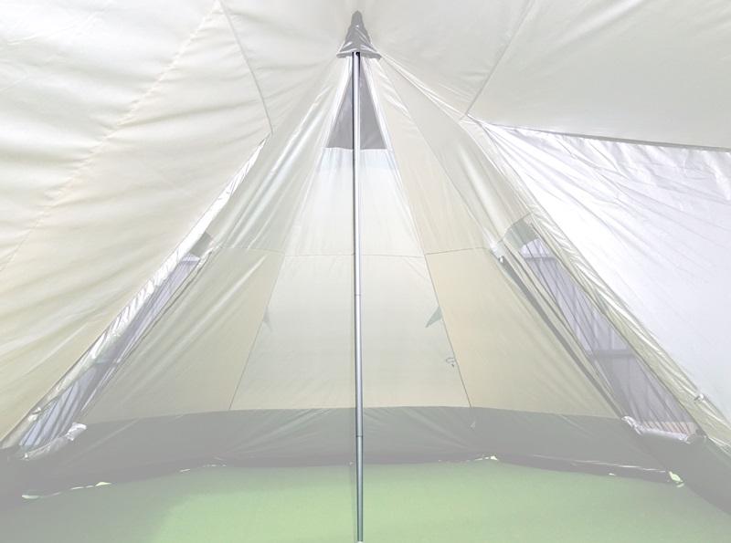 威力屋47雙峰帳篷頂柱X2【240CM】