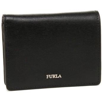 フルラ 財布 FURLA 962175 PZ28 B30 O60 バビロン BABYLON XL BIFOLD レディース 二つ折り財布 無地 ONYX 黒