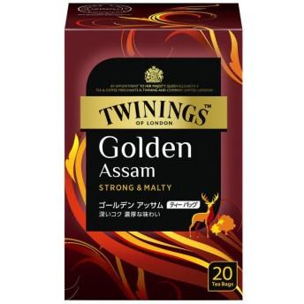 片岡物産 トワイニング ゴールデンアッサム ティーバッグ 1箱(20バッグ入)