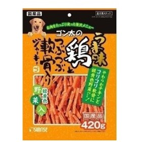 サンライズ うま味 鶏軟骨ジャーキー 野菜 420g 【ドッグフード/犬用おやつ/犬のおやつ・いぬのおやつ/】【bulk】