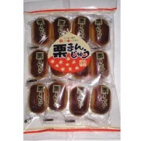 日新堂製菓 栗まんじゅう 12個×6入