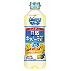 日清オイリオ キャノーラ油 600g×10入