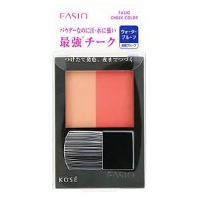 コーセー ファシオ ウォータープルーフ チーク OR-1 オレンジ系 (4.5g) チークカラー FASIO