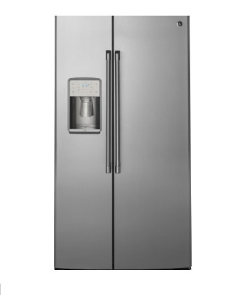 GE 美國 奇異 CZS22MSSS 702L 對開門冰箱 不鏽鋼灰色
