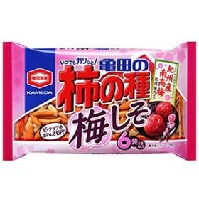 亀田製菓 柿の種梅しそ(6袋) 182g×12入