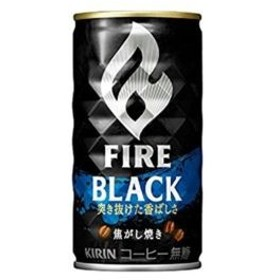 キリンビバレッジ ファイア 香ばしブラック(缶) 275g×24入