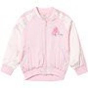 ボンバージャケット MA1 ミリタリージャケット キッズ 女の子【Pepe Jeans Pink Ava Embroidered Back Brande