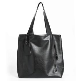 INSTYLE BAGS ニュートラルトートバッグ-ユニセックス-ブラック