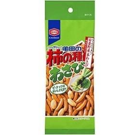 ポイント消化 亀田製菓 柿の種わさび 68g×10入