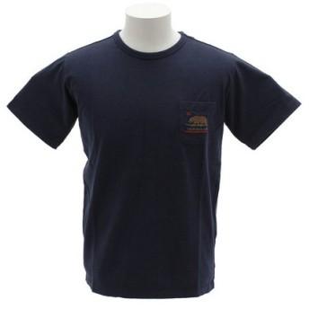 クリフメイヤー(KRIFF MAYER) 刺繍ポケット 半袖Tシャツ 1757200-3-NVY (Men's)