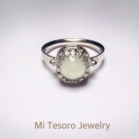 Mi Tesoro天然石 - Grapestone - Sake Ring Ring