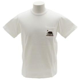 クリフメイヤー(KRIFF MAYER) 刺繍ポケット 半袖Tシャツ 1757200-1-WHT (Men's)