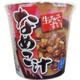 ポイント消化 旭松食品 カップ生みそずい なめこ汁 6入