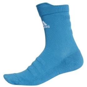 アディダス(adidas) ALPHASKIN ハーフクッション クルーソックス ECF72-CV7435 (Men's)