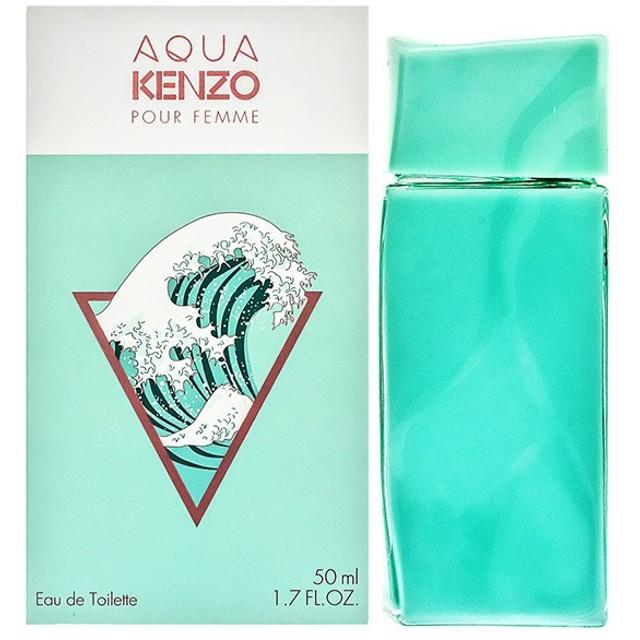 ケンゾー KENZO アクアケンゾー オーデトワレ EDT SP 50ml Aqua Kenzo Pour Femme 【香水 フレグランス】【バレンタイン ギフト】