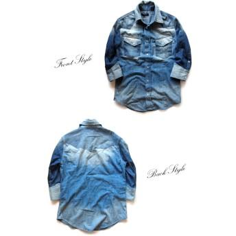 シャツ - BEAT JIVE シャツ メンズ デニムシャツ ウエスタンシャツ デニム ジーンズ