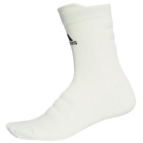 アディダス(adidas) ALPHASKIN ハーフクッション クルーソックス ECF72-CV7436 (Lady's)